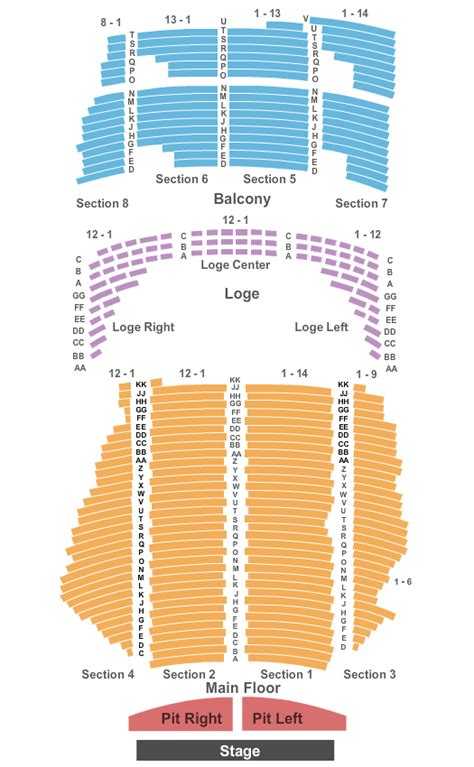 state theater mn seating chart concert venues in minneapolis mn concertfix