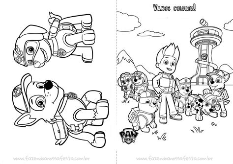 desenhos para colorir imagens para colorir patrulha canina pagina livrinho para colorir do patrulha canina p 225 gina 5 livro