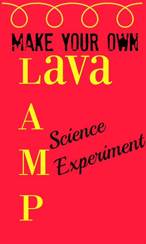 how to make your own lava l how to make real lava l make this lava l bubble and
