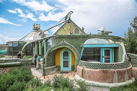 these earthship homes in new mexico are the grid made