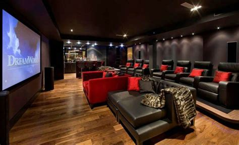 theatre with couches modern home theater sofa