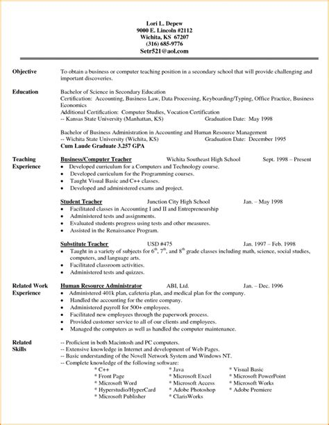 High School Diploma On Resume How Do You Put High School Diploma On Resume Website