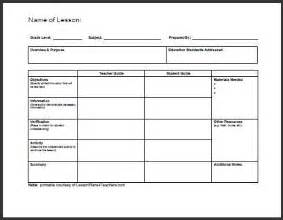 small lesson plan template best 25 lesson plan templates ideas on