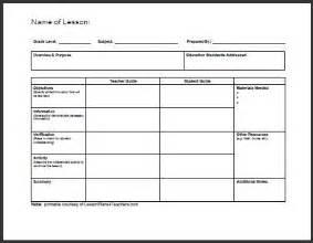 best 25 lesson plan format ideas on pinterest lesson