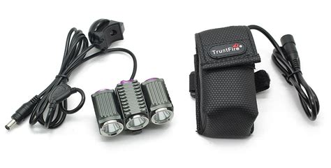 Trustfire Led Bicycle Light 3x Cree Xm L2 1200 Lumens Tr D012 1 trustfire tr d012 led light battery 3x cree xm l2 1200