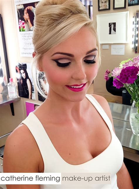 Makeup Makeover special occasion weddings bridal catherine fleming make up