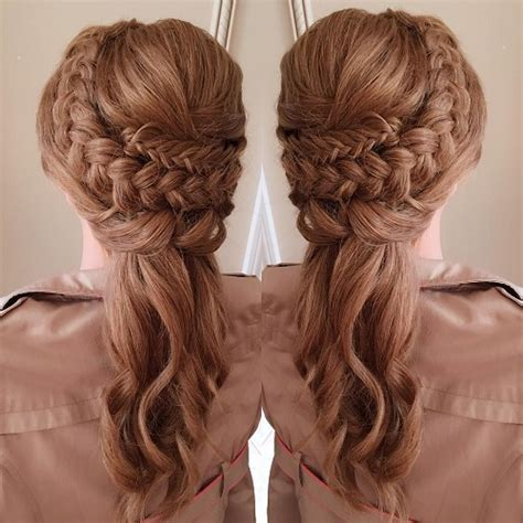Easy Hairstyles For Curly Haired by 10 Pretty Bridal Hairstyles For Curly Hair Popxo