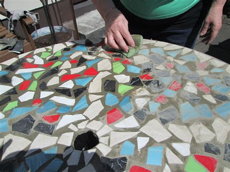 how to a mosaic table top how to design a mosaic tabletop with ceramic tiles