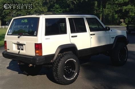 1996 Jeep 3 Inch Lift Wheel Offset 1996 Jeep Aggressive 1 Outside