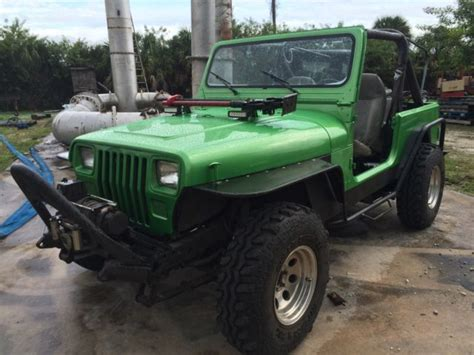 South Florida Jeeps 1989 Jeep Wrangler Lift 33 Quot Swers Custom Clean