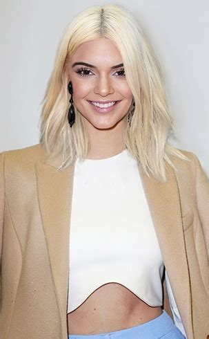 kris jenner blonde hair kendall jenner hairstyles easy to do at home