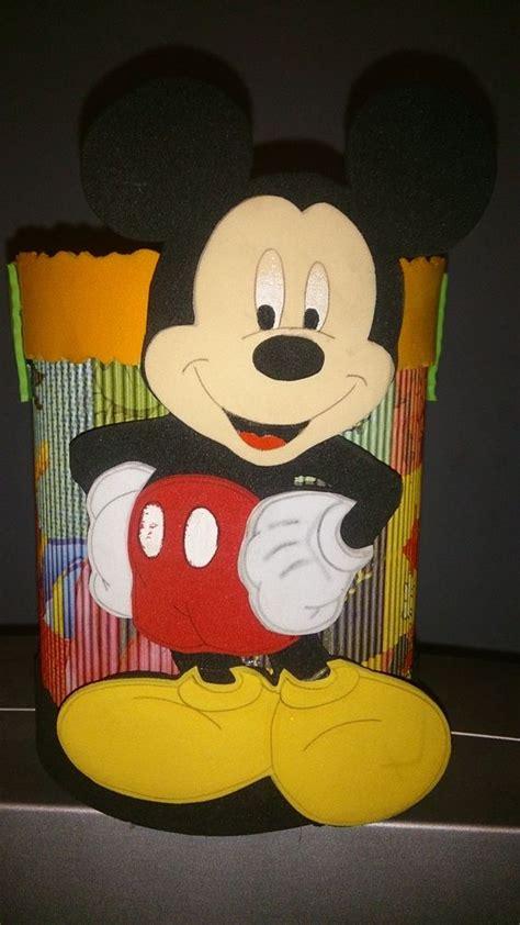 decoraciones deminnie en latas de leche dulcero de mickey mouse para cumplea 241 os hecho de lata de