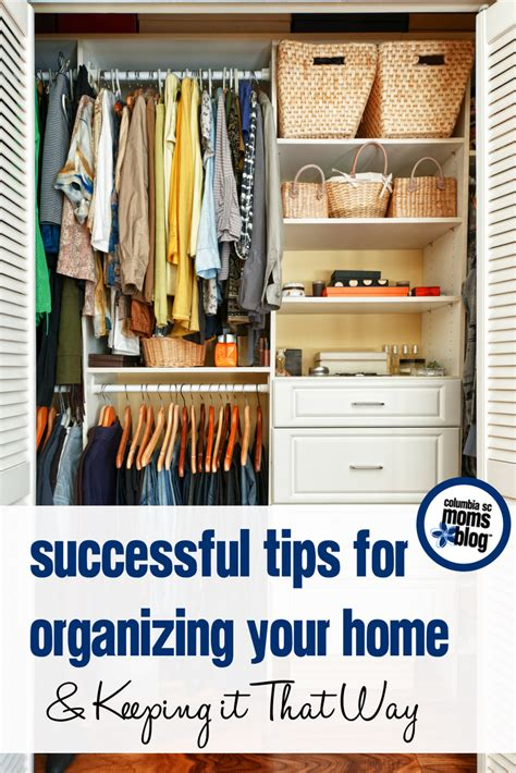 tips for organizing successful tips for organizing your home keeping it that