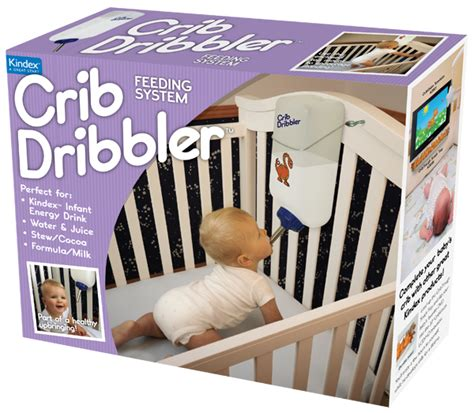 Crib Dribbler Real crib dribbler feeds your baby so you can sleep eat and