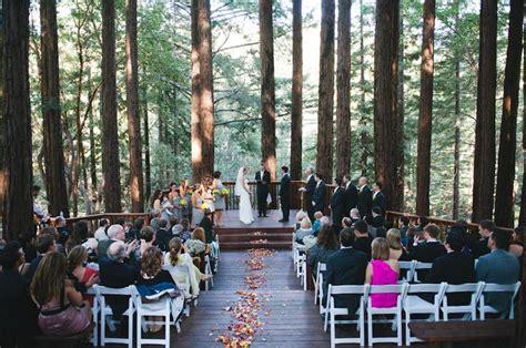 wedding venues in redwoods 2 hitheater of the redwoods outdoor wedding at buddhist retreat in santa redwoods 2