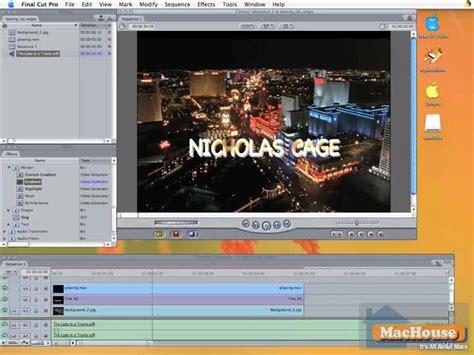 final cut pro basics final cut pro basic techniques series 9 mac only