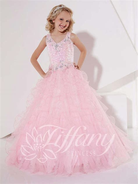 Kd10 Princess Dress Import Pink Size 12 princess 13392 pink pageant gala gown dress