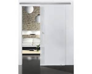 vantail de porte coulissante en verre pertura selir satin 233