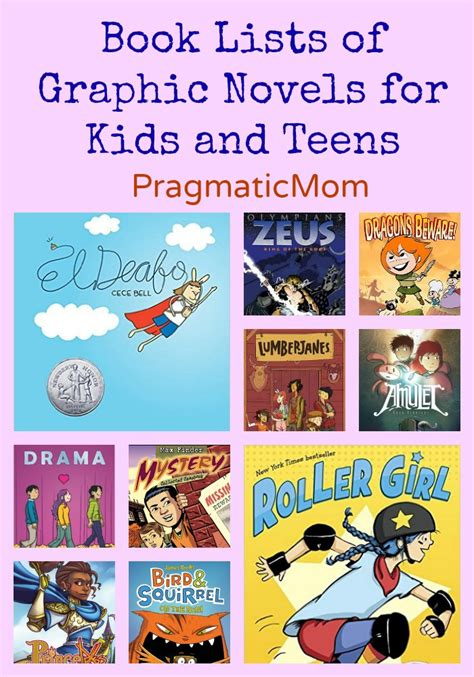 27 best images about graphic novels for kids graphic novel book lists pragmaticmom
