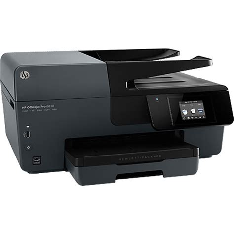 Printer Hp Officejet Pro 6830 E All In One hp officejet pro 6830 e all in one printer e3e02a b1h b h photo