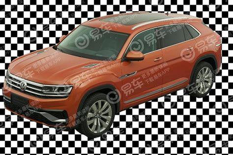 vwvortexcom volkswagen atlas cross sport concept revealed   york previews  production