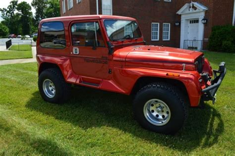 1991 Jeep Wrangler Renegade 1991 Jeep Wrangler Renegade With Top Fully Restored