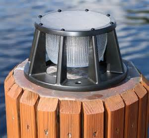 solar pier lights battery watering systems marine dock products solar dock