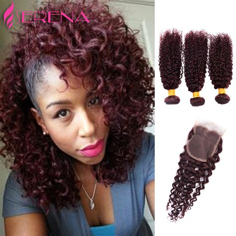hair weevinf in south jersey 2018 red burgundy brazilian hair weave 3 bundles deals