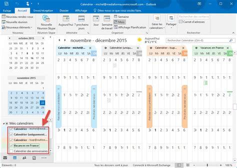 Calendrier Outlook Calendrier Outlook