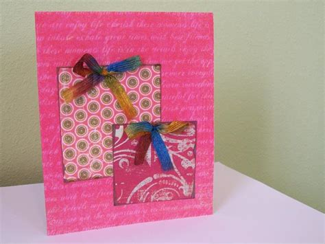 easy cards to make ideas pink color ideas to make handmade cards trendy mods