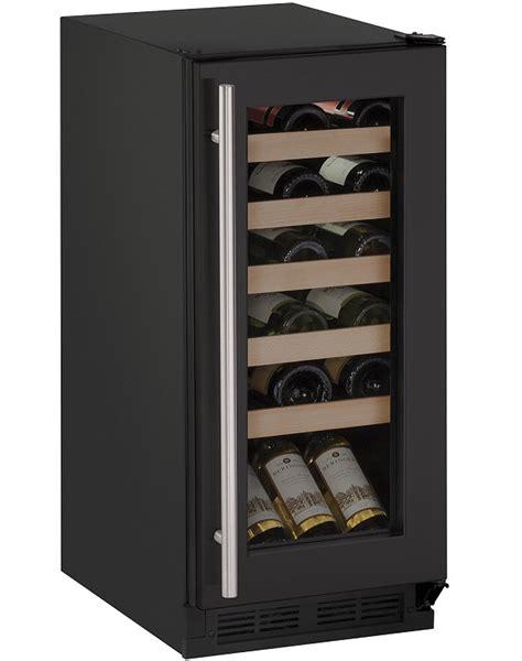uline wine cooler u line 15 quot black wine captain cooler u 1215wcb 00b