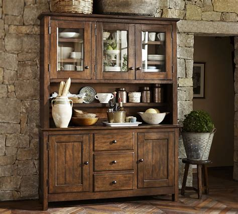 hb benchwright buffet hutch solidwood antique style