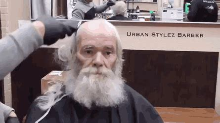 old men make overs homeless old man gets makeover gif create discover and