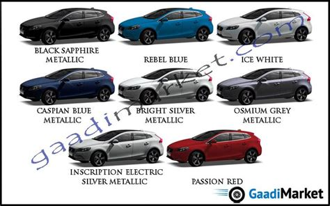 volvo colors v40 colours volvo colour options volvo v40 volvo cars