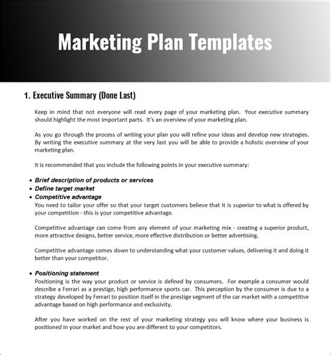 marketing plan example word spy auto cars