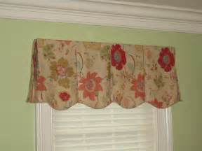 Scalloped Curtains Window Treatments Valances Black Dog Design Blog