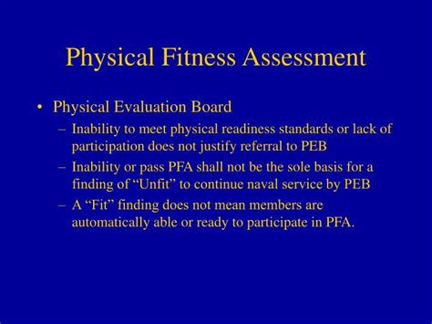 navy cfl appointment letter ppt physical readiness program powerpoint presentation