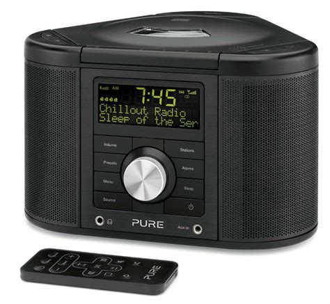 chronos cd series 2 dab fm alarm clock radio cd player ebay