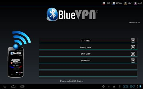 bluetooth update for android bluedun bluevpn bluetooth tethering for android devices bluevpn and bluedun work together