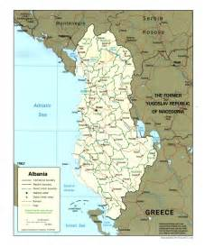 Albania Map Europe by Albania Maps Perry Casta 241 Eda Map Collection Ut Library