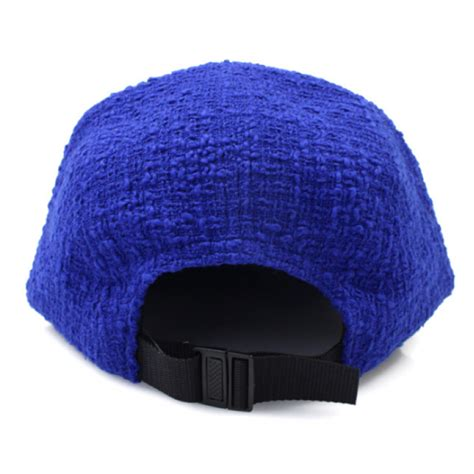 supreme hats supreme boucle box logo c hat blue