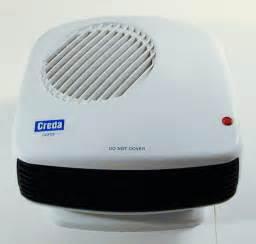 Bathroom Safe Fan Portable Heater Creda Cdf1 1kw Compact Bathroom Downflow Fan Heater