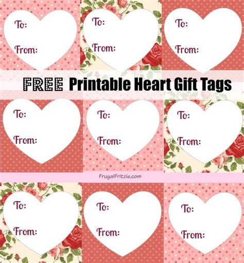 printable gift tags for valentines free printables archives frugal fritzie