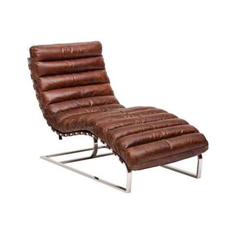 oviedo chaise oviedo chaise in vintage waxy leather coco p007