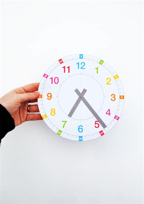 printable learning clock minieco co uk printable learning clock minieco