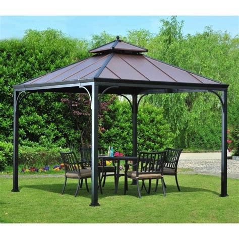 Lowes Gazebo Finest Apex Garden Replacement Canopy Top Patio Gazebo Lowes