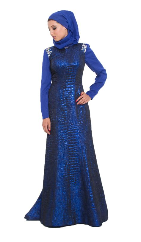 baju formal arab blue formal dresses can make you are in perfect appearance
