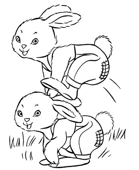 rabbit coloring pages pdf bunny coloring pages coloringmates coloring home