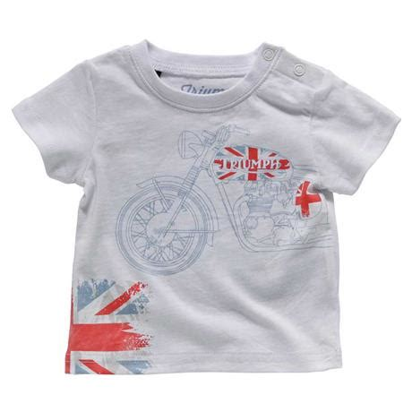 great britain baby t shirt triumph motorcycles