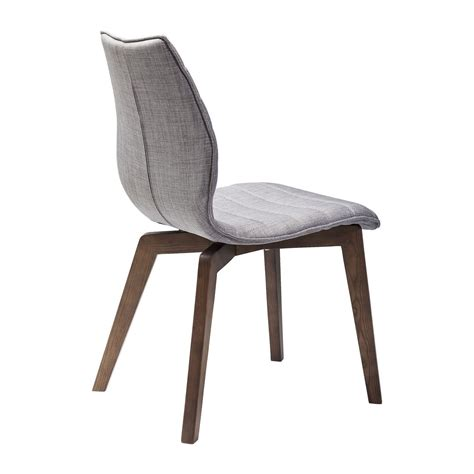 chaise scandinave grise vita kare design